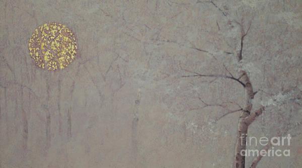 Faint Wall Art - Painting - Silence, 2017 by Angus Hampel