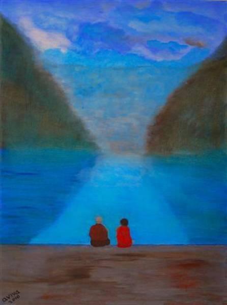 Wall Art - Painting - Silence by Aviva Moshkovich