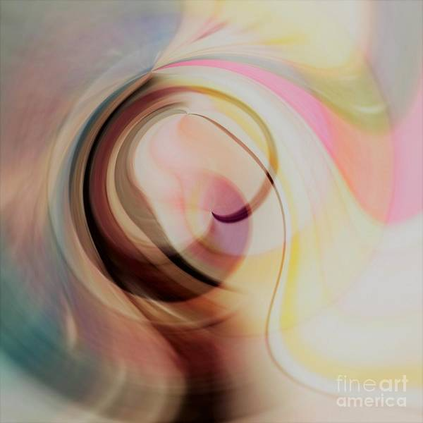 Abstrait Digital Art - Silence by Carole Thivierge