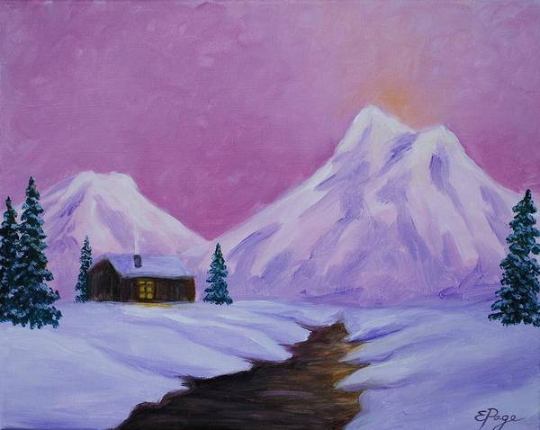 Painting - Silence Of Snow by Emily Page