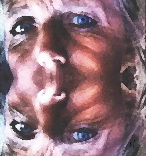 Digital Art - Silenced by Shelli Fitzpatrick
