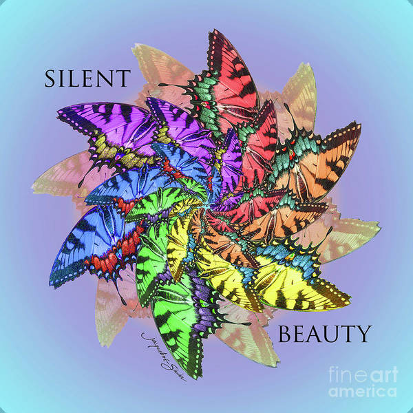 Digital Art - Silent Beauty by Jacqueline Shuler