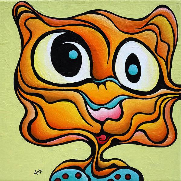 Painting - Silent Bob by Amy Ferrari