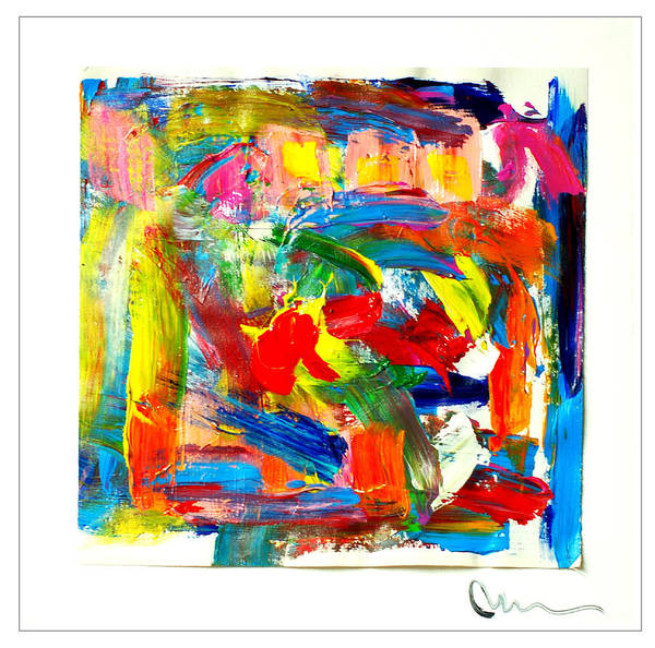 Decorative Wall Art - Painting - Silent Face by Mac Worthington