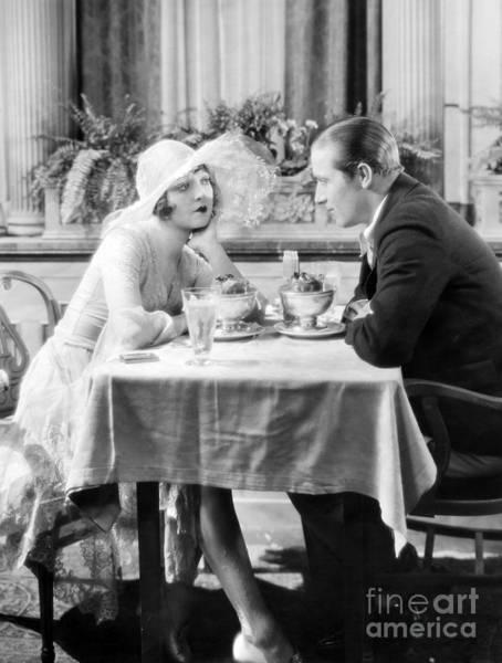 Photograph - Silent Film: Restaurants by Granger