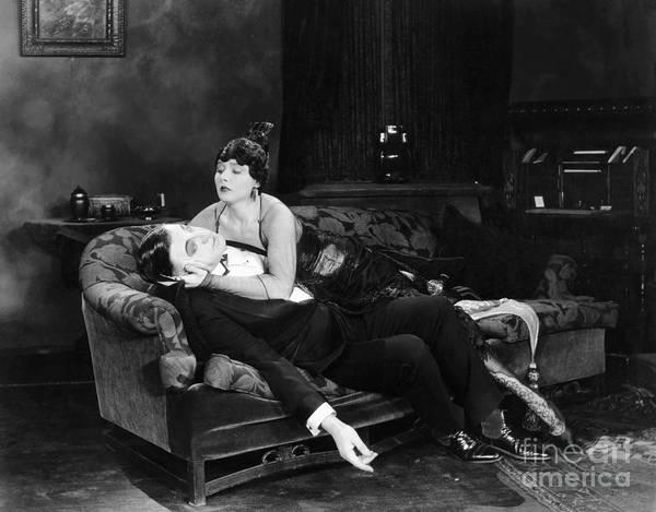 Photograph - Silent Film Still: Fainting by Granger
