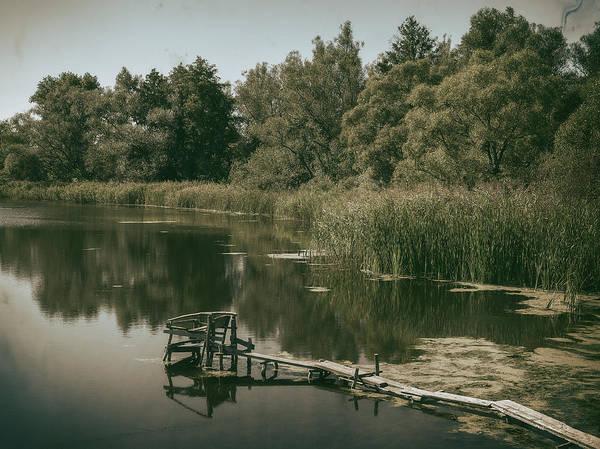 Photograph - Silent Lake. Korop, 2016. by Andriy Maykovskyi