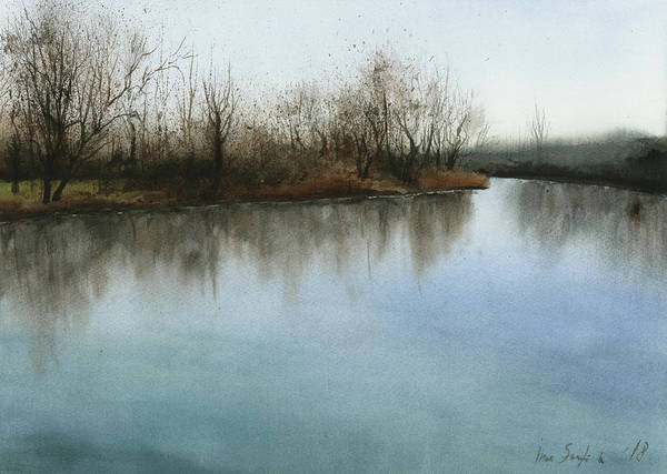 Russian Impressionism Wall Art - Painting - Silent Morning by Zapista Zapista