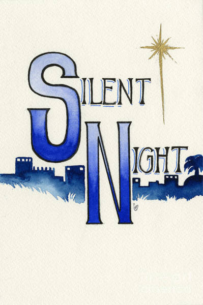 Painting - Silent Night by Cindy Garber Iverson