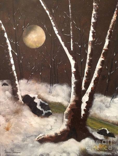 Painting - Silent Night by Denise Tomasura