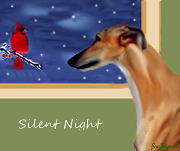 Wall Art - Digital Art - Silent Night by Jennifer Howard