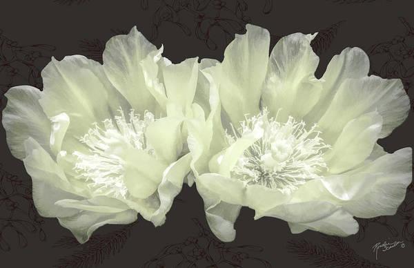 Cactus Mixed Media - Silent Night by Rosalie Scanlon