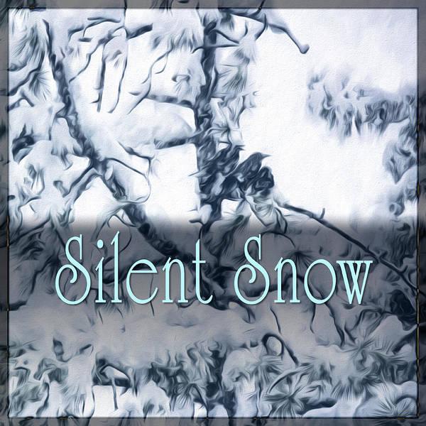Digital Art - Silent Snow by Becky Titus