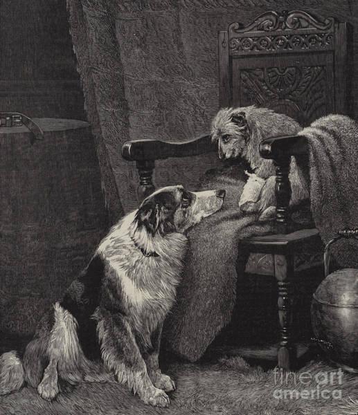 Arthurs Seat Painting - Silent Sympathy by Arthur Batt