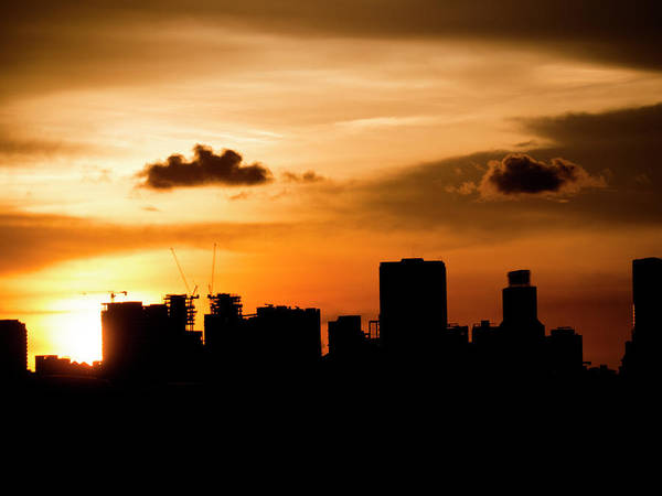 Photograph - Silhouette City by Andrew Kow