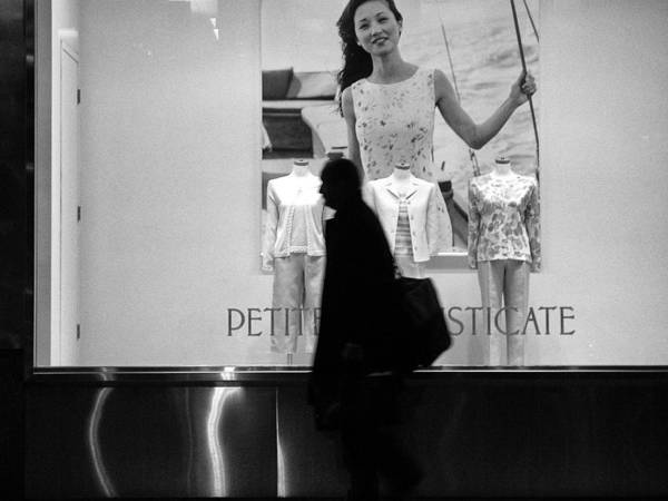 Storefront Photograph - Silhouette by H James Hoff