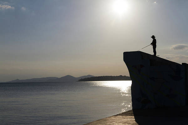 Wall Art - Photograph - Silhouette In Absolute Serenity by Iordanis Pallikaras