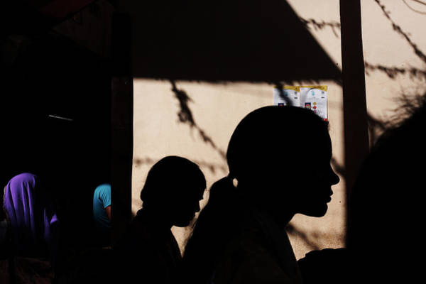 Photograph - Silhouette Of People by Mahesh Balasubramanian