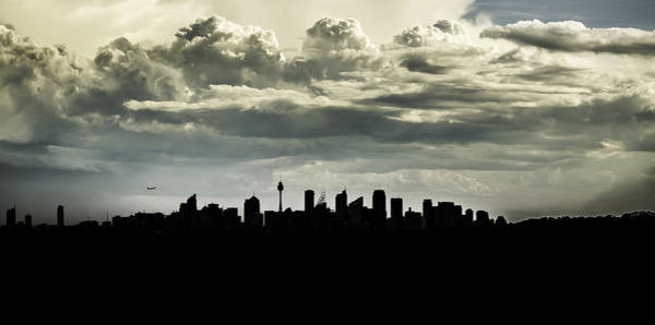 Photograph - Silhouette Of Sydney by Chris Cousins