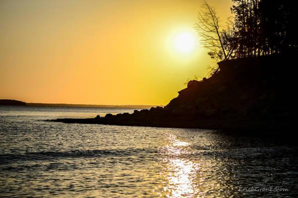 Photograph - Silhouette Sunrise by Erich Grant