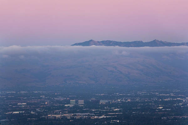 Silicon Valley Wall Art - Photograph - Silicon Valley At Dusk by Matt Tilghman