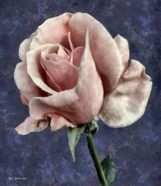 Painting - Silk Blush by RC DeWinter