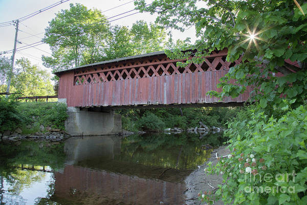 Photograph - Silk Road Covered Bridge by Rod Best