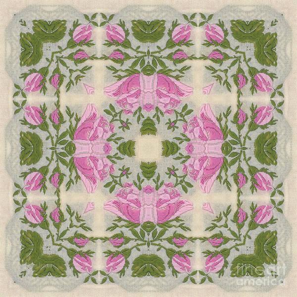 Digital Art - Silky Rose by Elaine Teague