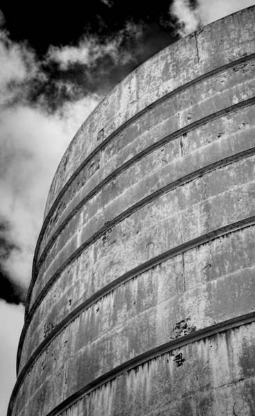 Grain Elevator Photograph - Silo #1 by Stephen Stookey