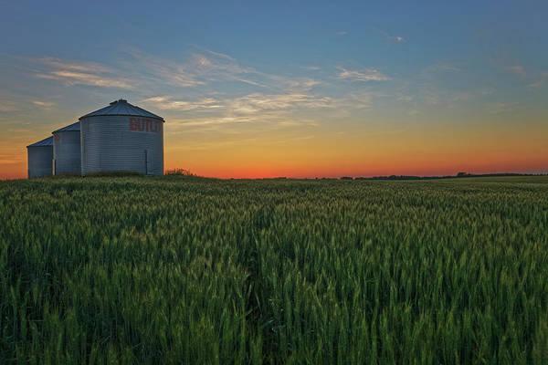Photograph - Silos At Sunset by Dan Jurak