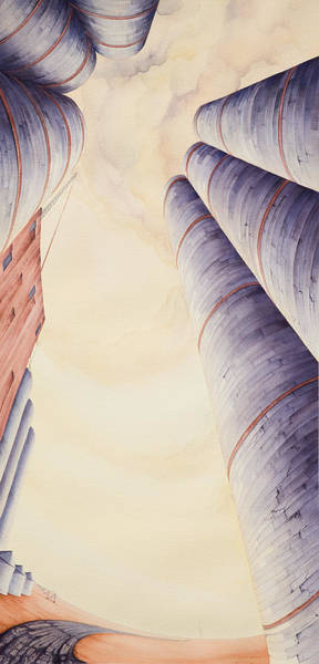 Painting - Silos Iv by Scott Kirby
