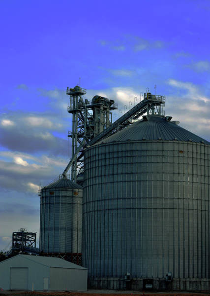 Photograph - Silos On The Tennessee River by Lesa Fine