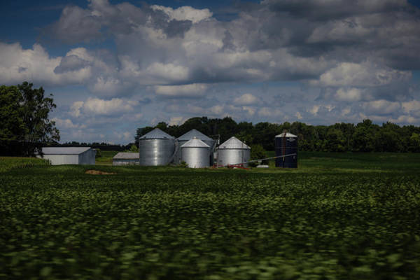 Photograph - Silos by Sue Conwell