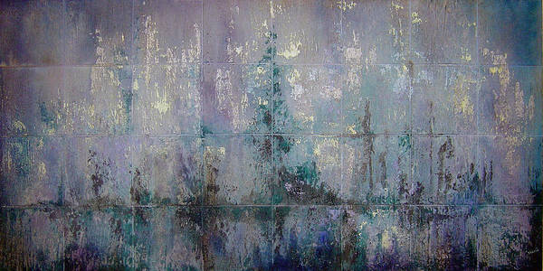 Wall Art - Painting - Silver And Silent by Shadia Derbyshire