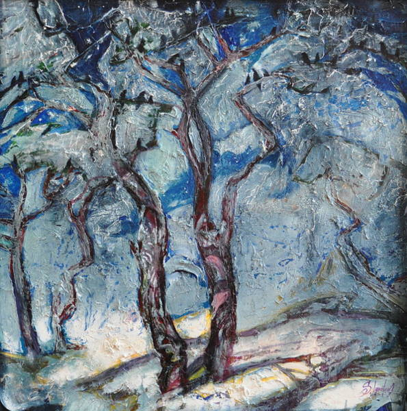 Ignatenko Painting - Silver Beach by Sergey Ignatenko