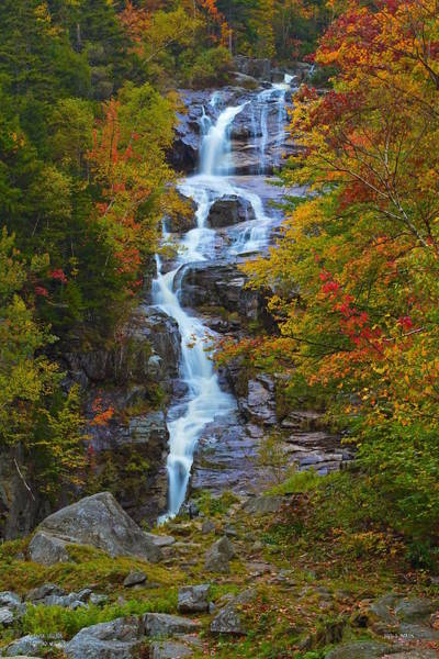 Photograph - Silver Cascade by Dale J Martin