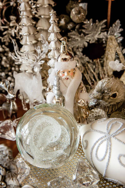 Photograph - Silver Christmas by KG Thienemann