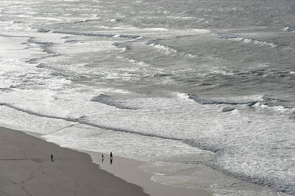 Photograph - Silver Coast Beach Fun by Georgia Mizuleva