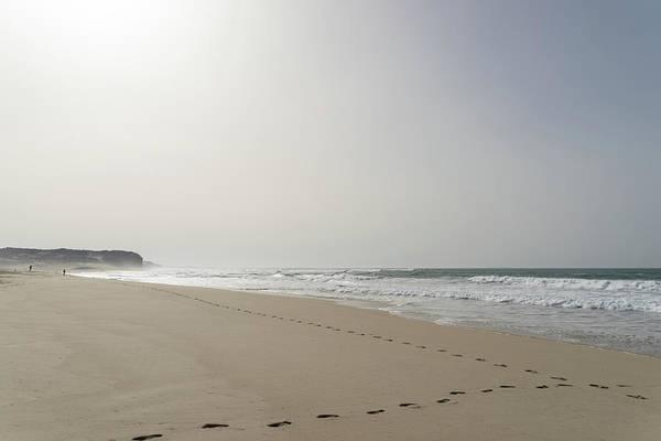 Photograph - Silver Coast Winter Beach by Georgia Mizuleva