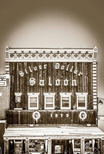 Wall Art - Photograph - Silver Dollar Saloon 2 by Marilyn Hunt