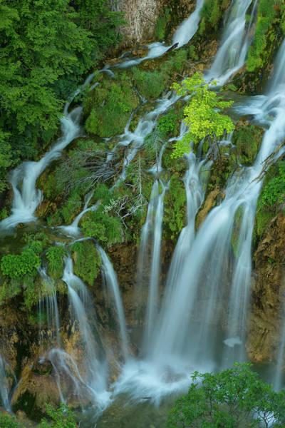 Wall Art - Photograph - Silver Falls by Christian Heeb
