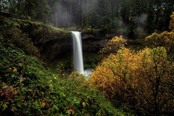 Photograph - Silver Falls by Ryan Smith