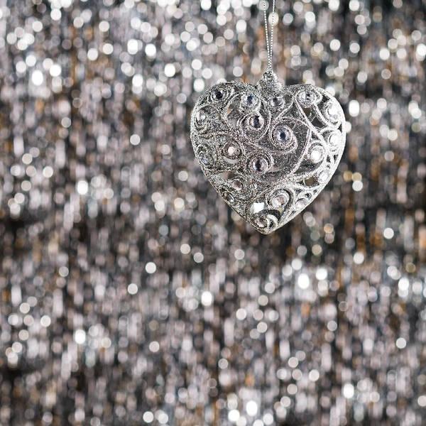 Photograph - Silver Heart by U Schade