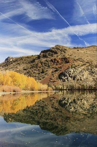 Photograph - Silver Lake Autumn Portrait by Sean Sarsfield