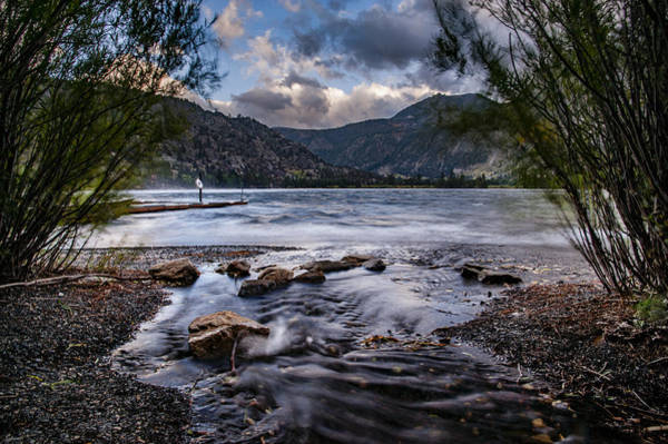 Photograph - Silver Lake Inlet by Cat Connor