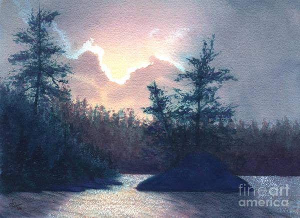 Painting - Silver Lining by Lynn Quinn