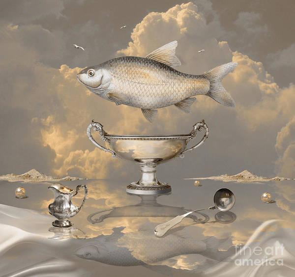 Digital Art - Silver Mood by Alexa Szlavics