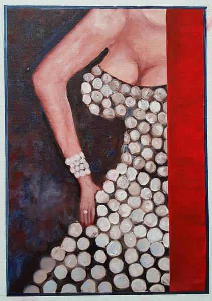 Painting - Silver Queen   39 by Cheryl Nancy Ann Gordon