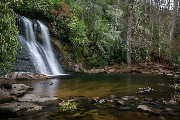 Photograph - Silver Run Falls by Chris Berrier
