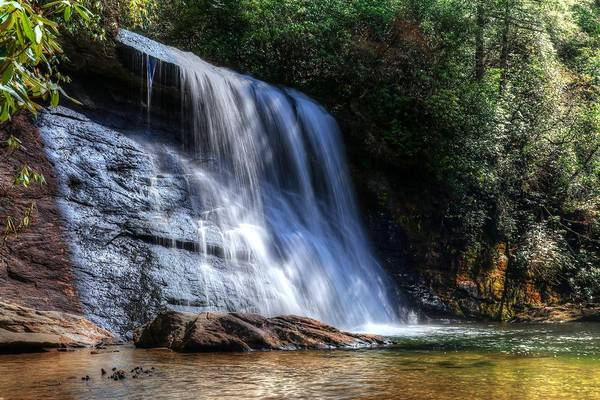 Photograph - Silver Run Falls North Carolina by Carol Montoya